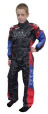 WULF KIDS SUIT BLACK/BLUE/RED
